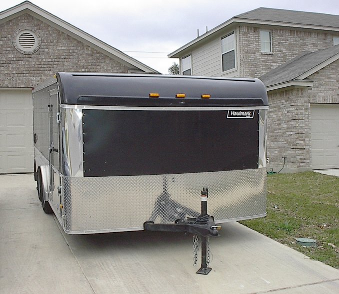 FS: Haulmark 14x8 Enclosed Low Hauler Trailer (San Antonio